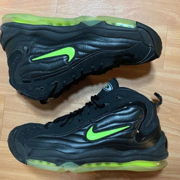 Buy Nike Air Total Max Uptempo Cheap Mens Shoes Black Green